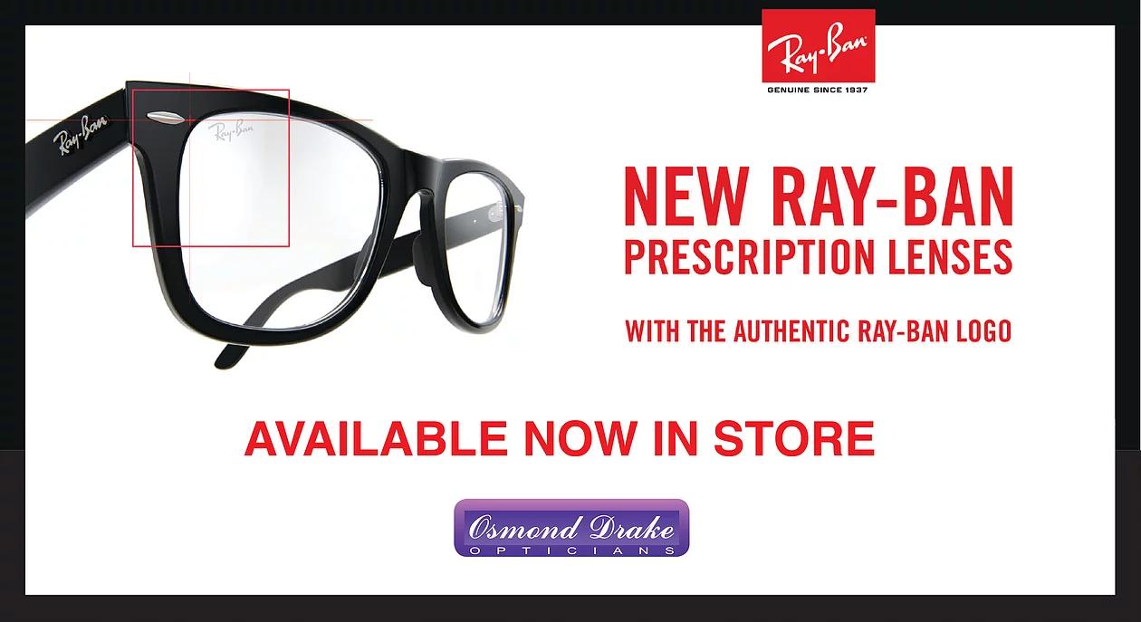 a2a02f18d5 New Ray-Ban Prescription Lenses